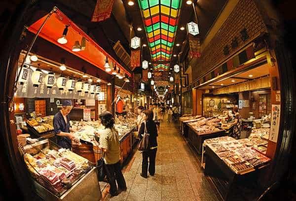 Gang di Pasar Kyoto